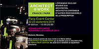Architect@Work - Paris 2016