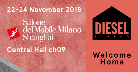 Diesel Living on tour: Dubai and Shanghai are the next exclusive showcases of the new collections