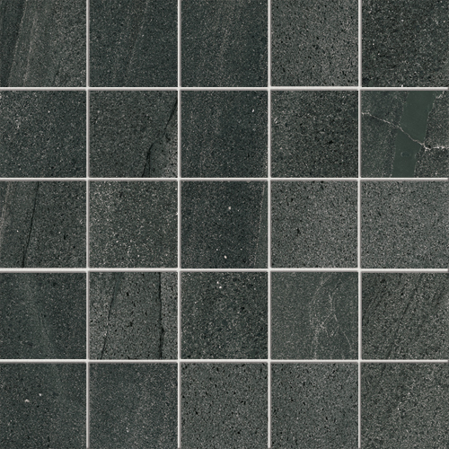 Pietra di basalto nero floor and wall tiles iris ceramica for Carrelage 120x60
