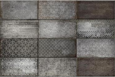 Quayside Graphite Floor And Wall Tiles Iris Ceramica