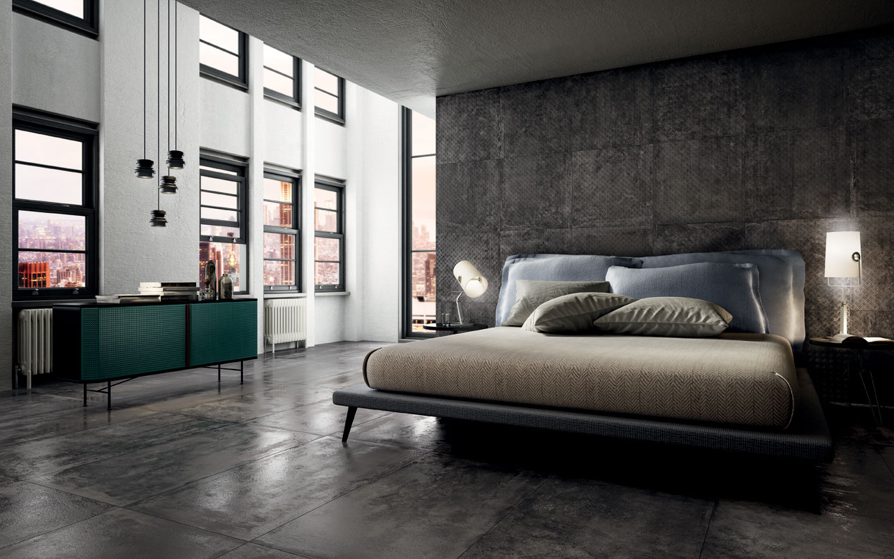 Stage Grey Diving Floor And Wall Tiles Iris Ceramica