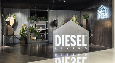 Diesel Living - Iris Showroom 2016
