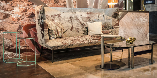 Diesel Living stand at Downtown Design 2018